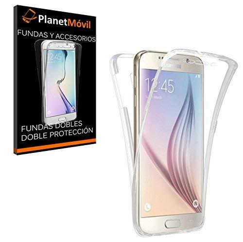 eefa2cfd328 PLANETMOVIL Carcasa Compatible con Samsung Galaxy S7 Edge Funda DE Silicona  Delantera + Trasera Doble 100