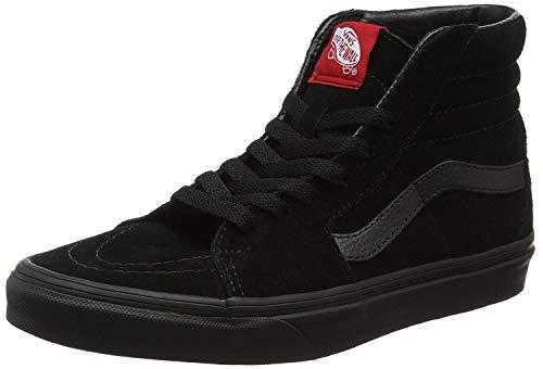 Vans - SK8HI - 0D5IBKA - Farbe: Schwarz-Grau - Größe: 44.5 (Grau Schwarze Vans Schuhe)