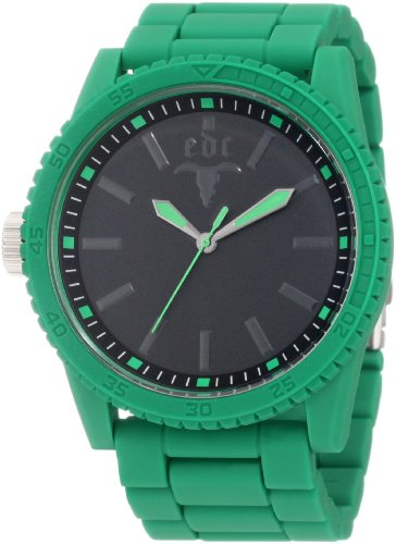edc by esprit Men's EE100291011 Military Star Waterfall Green Watch