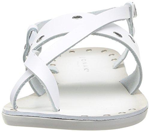 Jonak  342-14073/Cu/E4,  Sandali donna Bianco (bianco)