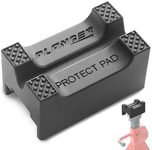 PLANGER ® - 1x Unterstellbock Gummiauflage Universal - Für Fast alle Unterstellböcke geeignet - Perfekter Schutz
