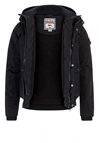 Lonsdale Jacket Hillbrae Black