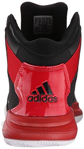 Adidas Performance outrival 2 Basketballschuh, schwarz / hell Onix / Silber Metallic, 6,5 M Us Black/Scarlet/White