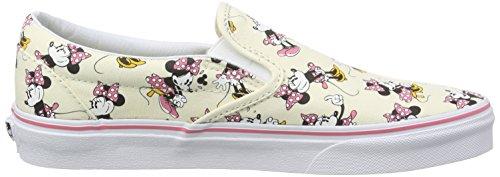Vans U Classic Slip-on Disney, Unisex-Erwachsene Sneakers Mehrfarbig (disney/minnie Mouse/classic White)