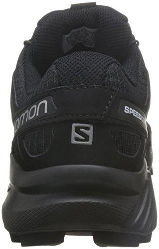 Salomon Damen Speedcross 4 Traillaufschuhe Schwarz (Black/black/black Metallic)