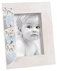Idea Regalo - Mascagni Casa- Cornice Portafoto da Bambino Formato 13X18 Colore Azzurro Celeste 409, Multicolore, 8003426023716