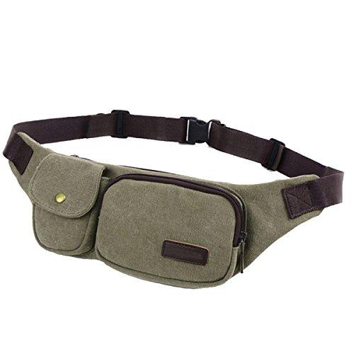 Multi-funzionali Tasche Outdoor Fitness Sport Multi-color,Beige-22*30*4cm Green