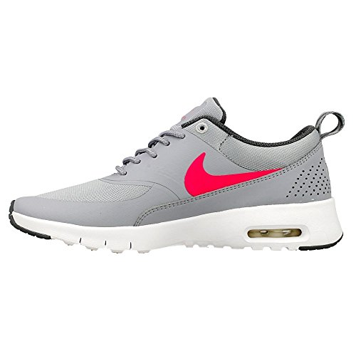 Nike Mädchen Air Max Thea (Gs) Laufschuhe, Schwarz Grau, Rosa, Grau (Wolf Grey / Hyper Pink-Cool Grey)