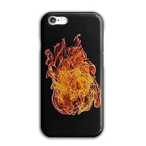 Groß Feuer Ball Heiß Flamme Fackel iPhone 8 Hülle | Wellcoda
