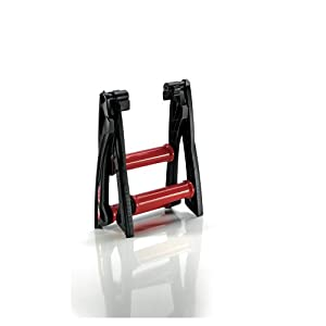 Elite Arion - Rodillo de ciclismo, color rojo y negro