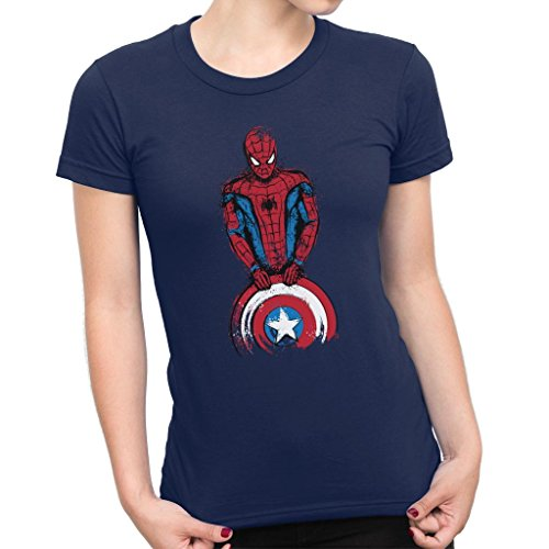 Spider Man The Spider Is Coming Women's T-Shirt (Spider Woman Shirt)