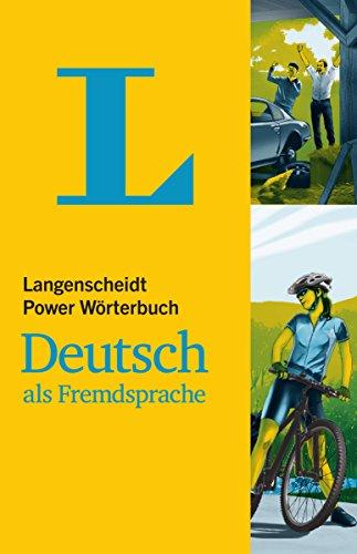 Langenscheidt Power Wörterbuch Deutsch als Fremdsprache: Deutsch-Deutsch