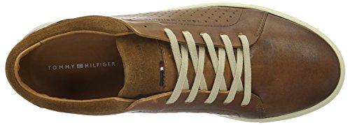 Tommy Hilfiger M2285ount 9c, Baskets Basses Homme Marron (Cognac606)