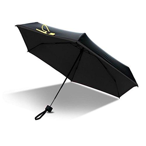 FLM Super Mini Paraguas - Doble-Uso Paraguas Del Sol/Lluvia