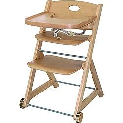 EK Handel - Silla infantil de madera
