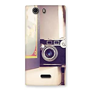 Impressive Pastel Camera Back Case Cover for Canvas Nitro 2 E311