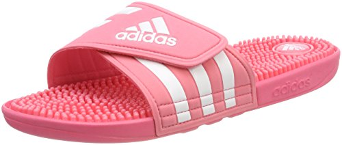 adidas Adissage W, Mules Femme Rose (Chalk Pink S18/ftwr Wht/chalk Pink S18)
