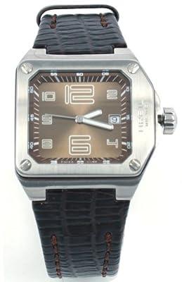 Breil BW0391 - Reloj analógico de mujer de cuarzo con correa de piel marrón de Breil