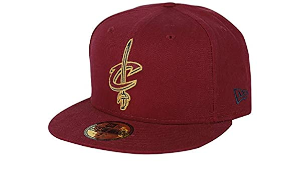 New Era NBA CLEVELAND CAVALIERS Chainstitch 59FIFTY Game Cap  Amazon.it   Sport e tempo libero e1ecff62a2a8
