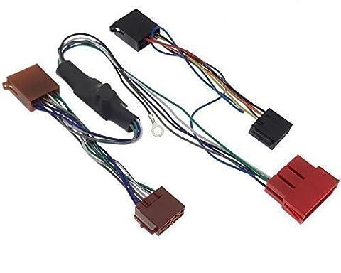 Radio Active Adaptateur Câble de système audio Bose DSP - 100 W pour Audi A2 A3 A4 A6 A8 TT B5