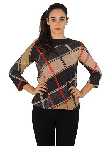 max-mara-womens-long-sleeve-jumper-multicolour-anthracite-small
