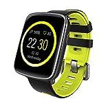 YAMAY Bluetooth Smartwatch Wasserdicht IP68 Smart Watch Intelligente Sport Uhr Fitness Tracker Armband mit Pulsmesser,Schrittzähler Armbanduhr,Schlaftracker,Stoppuhr für Herren Damen Kamera-Fernsteuerung Musik Vibrationsalarm Anruf SMS...