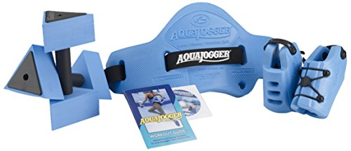 Aqua Jogger–Sistema de Fitness Unisex, Talla única, Color Azul