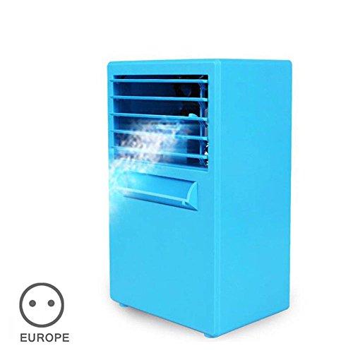 lzndeal Mini Ventilador de Aire Acondicionado Ventiladores de Refrigeración de Bajo Ruido...