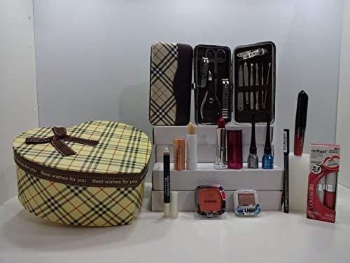 Glory cosmétiques Beauté Maquillage Manucure et pédicure, 10 pièces et ensemble cadeau, 11 pièces