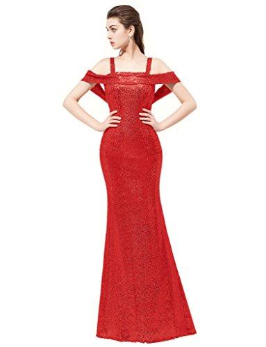 JYDress - Robe - Mermaid - Femme red