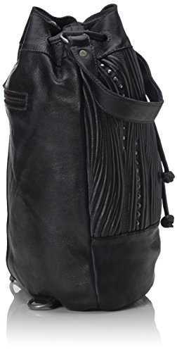 Taschendieb TD624, Sac à dos pour femme Noir (anthra)