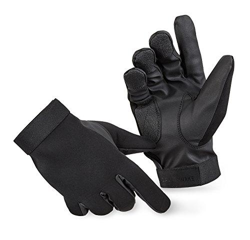 BlackSnake® Neopren Handschuhe mit Kevlar Schnittschutz Schwarz M