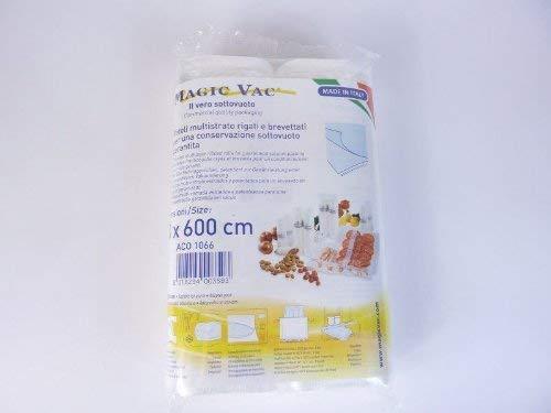 Magic Vac Aco1068 2 Rotoli Trasparenti 30 X 600 Cm