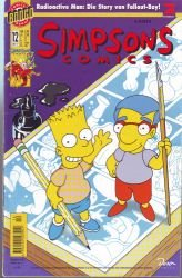 (SIMPSONS Comics # 12 - Radioactive Man: Die Story über Fallout-Boy! Comic 1997 (Simpsons))