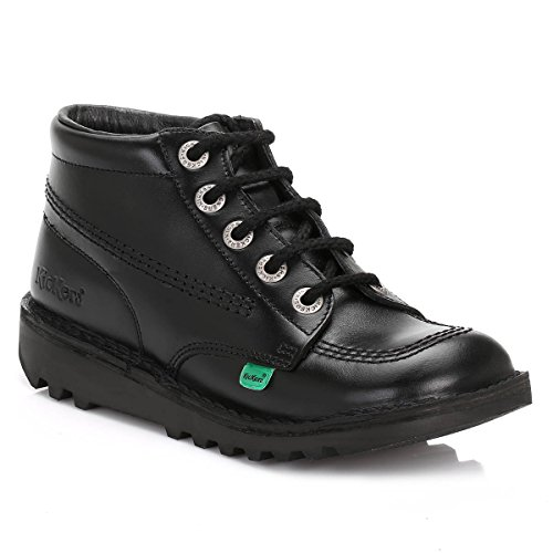 Brand New Kickers Kick Hi Mens Classic Lace-up Boots School Work Formal...