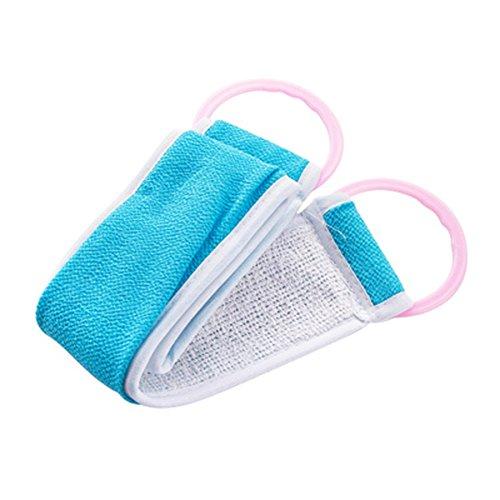 Exfoliant Scrubber Strap Masseur brosse douce éponge de bain exfoliante, D1