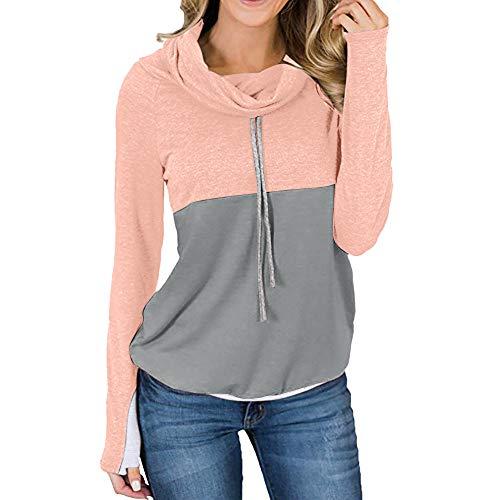 TOPKEAL Jacke Mantel Damen Herbst Winter Sweatshirt Steppjacke Kapuzenjacke Hoodie Pullover Outwear Coats Tops Mode 2019