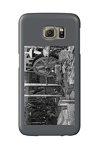 Scotia, California - Interior View of Pacific Lumber Co (Galaxy S6 Cell Phone Case, Slim Barely There) - Pacific Lumber
