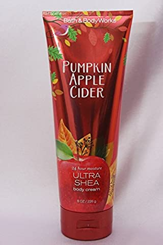 Creme Hydratante Ultra Shea Bath Body Works - Pumpkin Apple Cider (226gl) Collection automne