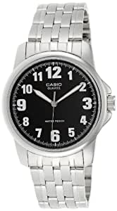 Casio Enticer Analog Black Dial Men's Watch - MTP-1216A-1BDF (A355)