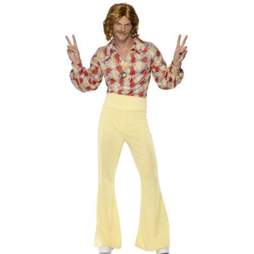 (Smiffys Karneval Herren Kostüm Disco Junge Groovy 60er Jahre Größe M)