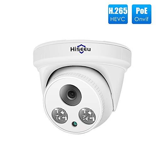 FAY HD 1080P Kamera, Home Security Alarmsystem, 3,6-mm-Objektiv/POE-Nachtsichtüberwachung, Zwei-Wege-Audio-Baby-Haustier-Monitor zur Bewegungserkennung