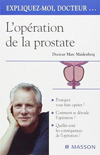 L'opération de la prostate