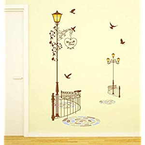 Amazon Brand – Solimo Wall Sticker for Living Room (Your Path is Beautiful, Ideal Size on Wall – 60 cm x 90 cm)