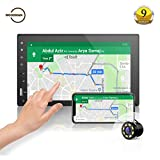 #7: Woodman WM2027 HD Full Touch Screen with Bluetooth/USB/AUX Double Din Car Stereo (WM2027 (Full Touch) + Camera)