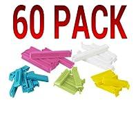 Ikea Sealing Bag Clips Various Sizes (60 Pack)