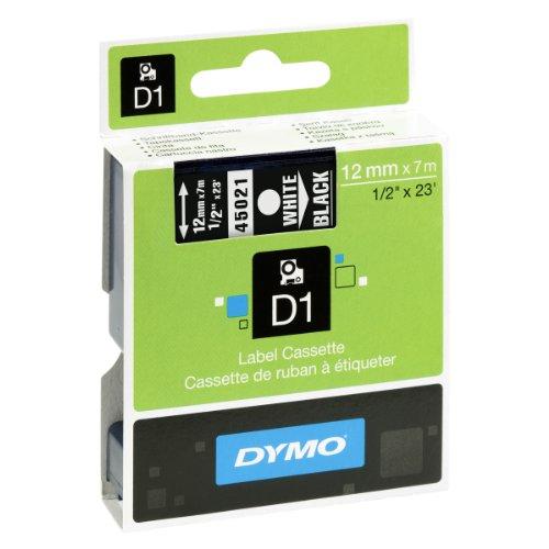 dymo-d1-etiquettes-standard-12-mm-x-7-m-blanc-sur-noir