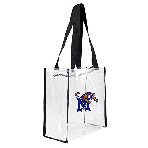 ncaa-memphis-tigers-square-stadium-tote-115-x-55-x-115-inch-clear-by-littlearth