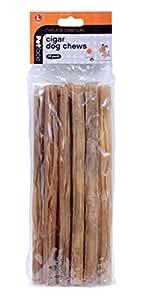 Petface 10 Pack Large Rawhide Cigars, Dog