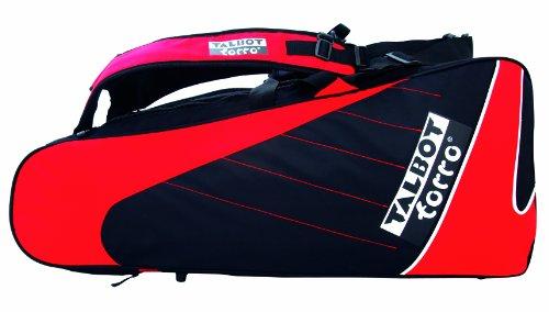 Talbot Torro Badminton Tasche Thermo Racketbag, Black-Red, 449215